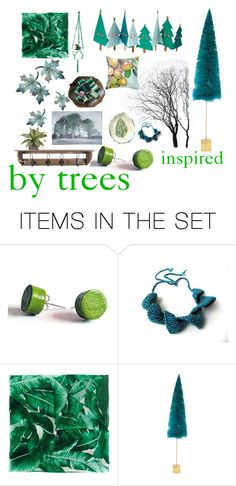 """""""inspired by trees"""" by belinda-evans ❤ liked on Polyvore featuring art"""
