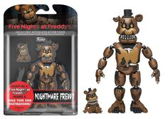 Five Nights at Freddy's Nightmare Freddy 5-Inch Action Figure