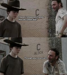 Dad jokes  The Walking Dead Rick Grimes