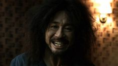 Choi Min-sik doing his smile in Oldboy by Park Chan Wook