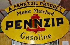 Pennzip/Pennzoil Sign