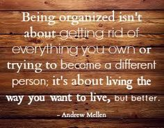 Organizing Challenge: How Do You Want To Live?