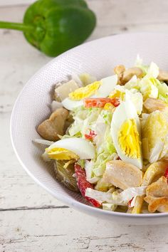 Yoghurt Dressing, Cobb Salad, Potato Salad, Yogurt, Potatoes, Cooking, Ethnic Recipes, Food, Salads