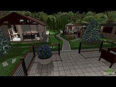 YouTube 3d Landscape, My House, Patio, Garden, Outdoor Decor, Youtube, Home Decor, Garten, Decoration Home