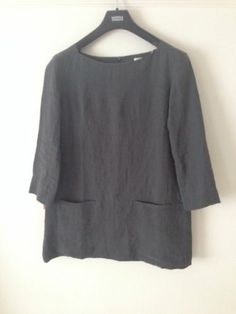 Toast Linen Tunic POCKETS