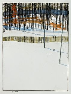 "Vjeranski: David Lidbetter the barrens (study 1)13"" H x..."