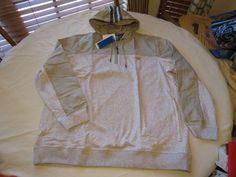 Adidas Sport LXE 1/2 zip s22765 jacket XXL 2XL hoody hoodie coat Mens grey hthr #Adidas #12zipjacket