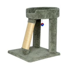 Wood Cat Bed Cat Pole Scratching Perch, Green Carcat ** Check out this great image  : Cat Beds and Furniture