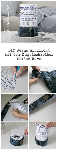 Jeans Upcyling, Boho Muster