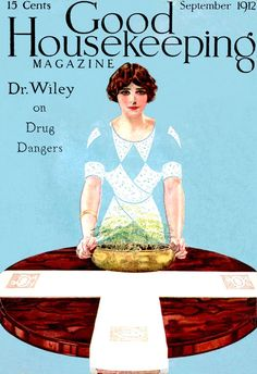 Coles Phillips : Cover art for Good Housekeeping, September 1912