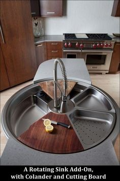 Funny pictures about Revolutionary rotating sink. Oh, and cool pics about Revolutionary rotating sink. Also, Revolutionary rotating sink. Home Design, Küchen Design, Interior Design, Diy Interior, Modern Design, Kitchen Interior, Design Trends, Design Basics, Dream House Interior