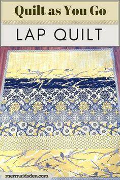 Easy 30 sewing hacks projects are offered on our internet site. look at this and you wont be sorry you did. Lap Quilt Patterns, Beginner Quilt Patterns, Quilting For Beginners, Quilting Tutorials, Quilting Projects, Quilting Designs, Beginner Quilting, Quilting Ideas, Sewing Patterns