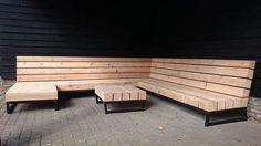 Why Teak Outdoor Garden Furniture? Patio Seating, Garden Seating, Outdoor Lounge, Outdoor Living, Outdoor Decor, Design Jardin, Garden Steps, Garden Sofa, Outdoor Garden Furniture