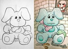 15 Of The Most Disturbing Things Drawn In Childrens Coloring Books If You Decide To Color Outside Lines Can Create Some Pretty