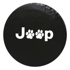 Jeep Animal Paw Print Vinyl Spare Tire Cover - $47.99 : Unique T-shirts, mugs, decals & gifts |, Dreams2things