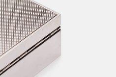 Mantiques Modern — Hermes Guilloche Box With Stripe — THE LINE