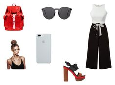 """""""outfit #176"""" by anaguilhermep98 on Polyvore featuring Michael Kors, Louis Vuitton, Illesteva, ETUÍ, cool, iphone, basic and casualoutfit"""