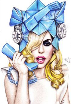 Lady GaGa by DendaReloaded.deviantart.com on @deviantART