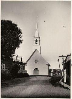 Saint-François-de-l'Ile-d'Orléans - Saint-François-de-Sales Church, 1925 Edgar…