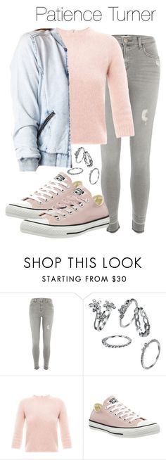 """Patience Turner - Supernatural / wayward sisters"" by shadyannon ❤ liked on Polyvore featuring River Island, Carven, Converse and Charlotte Russe"
