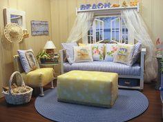 https://flic.kr/p/83BBmp   Beach House, 1:6 scale Coastal Living Room…