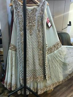 Get this fabulous outfit by ordering at zebaishcollection@hotmail.com or WhatsApp at +923453973384 Or dm at insta on zebaish_collection Pakistani Bridal Couture, Pakistani Wedding Outfits, Bridal Outfits, Bridal Lehenga, Pakistani Dresses, Indian Dresses, Indian Outfits, Walima Dress, Mehendi Outfits