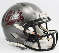 NCAA Montana Grizzlies Speed Mini Helmet by Riddell. $23.95. The New Riddell Montana Grizzlies Speed Replica Mini Helmet.