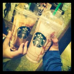 Yummyy <3 Frappuccino Bottles, Starbucks Frappuccino, Coffee Bottle, Drinks, Random, Drinking, Beverages, Drink, Casual