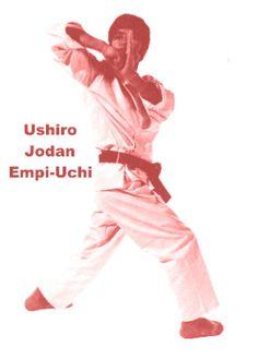 Ushiro Jodan Empi-Uchi