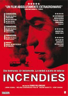 INCENDIES. Dirigida per Denis Villeneuve. Cameo, 2011.