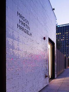 Shopfront :: Mameg + Maison Martin Margiela / Johnston Marklee & Associates