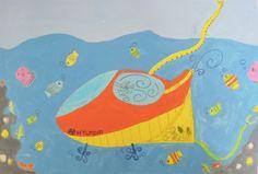 제 26회 대한민국 어린이 푸른나라 그림대회 수상작  ▶수상분야고학년 동상 ▶수상자명 김민경 (장양초등학교 5학년) ▶심사평 단순한 형태와 색감으로 독특한 분위기를 만들고 있는 그림이군요. 단정한 형태의 물고기들도 화면 전체의 분위기와 잘 어울린다고 생각합니다.  #hyundaimotorgroup #hyundai #kidshyundai