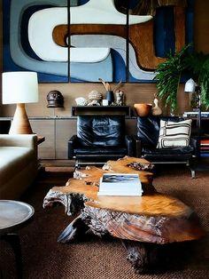 70's cool #InteriorDesign