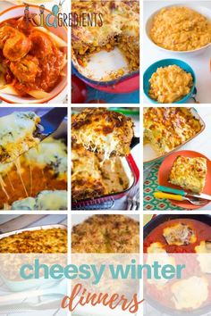 Cheesy winter dinners, because there is no better time to enjoy cheese!  Oozy dinners packed with cheesy goodness!  #kidgredients #kidsfood #dinner #cheese #winter #winterfood #kidfriendly #freezer