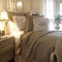 Ideas for farmhouse french bedroom duvet covers Small Room Decor, House Beds, French Furniture, Beautiful Bedrooms, House Beautiful, Beautiful Things, French Decor, Duvet Covers, Shabby Chic
