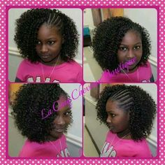 Crochet Hair Styles For Little Girl : crochet hair more black girls hairstyle for kids kid hairstyles black ...