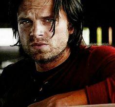 Oh my Bucky. Sebastian Stan, Winter Soldier Bucky, Bucky And Steve, Stucky, Bucky Barnes, Marvel Movies, Actor Model, Marvel Dc, Captain America