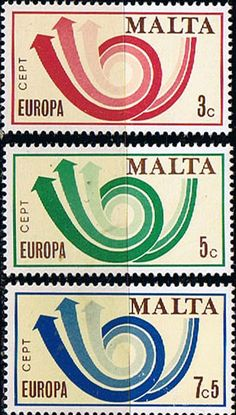 Malta 1973 Europa Set Fine Mint  SG 501 3 Scott 469 71 Other European and British Commonwealth Stamps HERE!