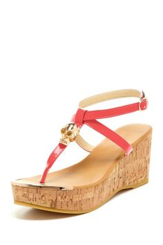 Bucco Waverly Skull Wedge by Shoe Obsessions on @HauteLook