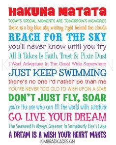 Disney Inspirational Movie Quotes