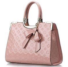 Louis Vuitton Pink Satchel Bag