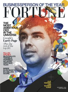 Fortune somehow names Tim Cook #2 Businessperson of the Year behind Google's Larry Page
