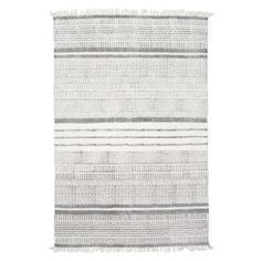 nuLOOM designs a variety of area rugs and runners ideal for anywhere inside your home including living rooms, bedrooms and dining rooms. nuLOOM curates affordable rugs in many styles like shag rugs, cowhide Affordable Rugs, Area Rug Sizes, Rugs Usa, Grey Rugs, Grey Stripes, Colorful Rugs, Shag Rugs, Modern Farmhouse, Farmhouse Rugs