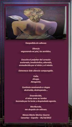 Despedida sin adioses - Blog - Casa dos Poetas e das Poesias