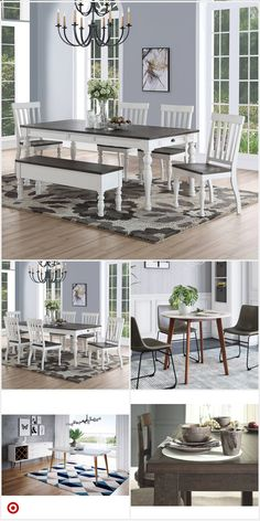 target home decor Shop Target for dinin - Dining Room Table Decor, Dining Room Design, Dining Furniture, Room Decor, Farmhouse Kitchen Tables, Home Decor Kitchen, Esstisch Design, Home Living Room, Home Remodeling