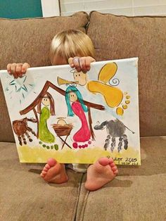 I love this piece of art that captures the love of God and the preciousness of a child.