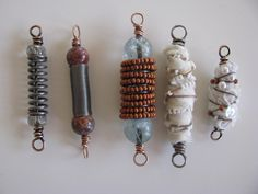Fabric Wrapped Beads