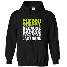 (BadAss) SHERRY - #disney tee #vintage sweater. LOWEST PRICE => https://www.sunfrog.com/Names/BadAss-SHERRY-wflraatjvy-Black-44554322-Hoodie.html?68278