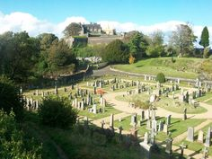 Stirling cementery+castle