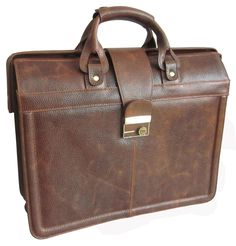 APC Legal Leather Executive Briefcase Color: Waxy Brown